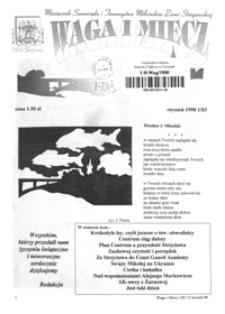 Waga i Miecz : miesięcznik Samorządu i Towarzystwa Miłośników Ziemi Strzyżowskiej. 1998, [R. 8], nr 1 (styczeń)