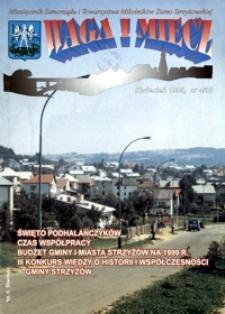 Waga i Miecz : miesięcznik Samorządu i Towarzystwa Miłośników Ziemi Strzyżowskiej. 1999, [R. 9], nr 4 (kwiecień)
