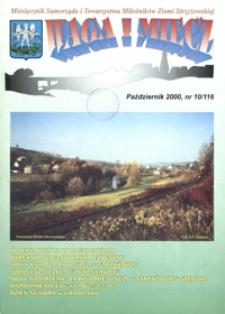 Waga i Miecz : miesięcznik Samorządu i Towarzystwa Miłośników Ziemi Strzyżowskiej. 2000, [R. 10], nr 10 (październik)
