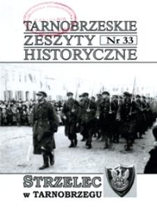 Tarnobrzeskie Zeszyty Historyczne. 2010, nr 33 (styczeń)