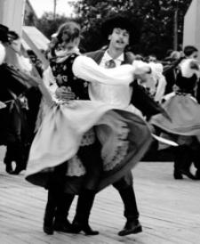 Mielec - dożynkowe tańce I [Fotografia]