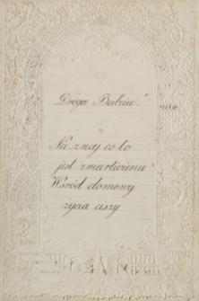 [Dwa listy Heleny Mikuckiej do Józefy Girtler, 21.02.1880; 19.03.1880]