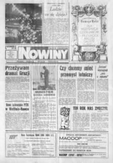 Nowiny : gazeta codzienna. 1991/1992, nr 250, nr 1-22 (grudzień / styczeń)