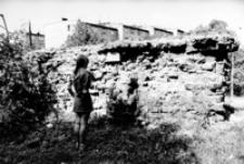 Fragment murów obronnych. Ulica Kazimierzowska [Fotografia]