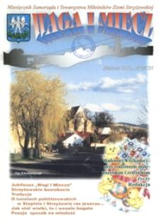 Waga i Miecz : miesięcznik Samorządu i Towarzystwa Miłośników Ziemi Strzyżowskiej. 2001, [R. 11], nr 3 (marzec)