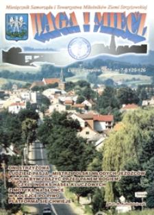 Waga i Miecz : miesięcznik Samorządu i Towarzystwa Miłośników Ziemi Strzyżowskiej. 2001, [R. 11], nr 7-8 (lipiec-sierpień)