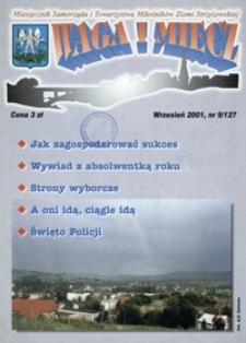Waga i Miecz : miesięcznik Samorządu i Towarzystwa Miłośników Ziemi Strzyżowskiej. 2001, [R. 11], nr 9 (wrzesień)