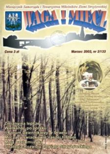 Waga i Miecz : miesięcznik Samorządu i Towarzystwa Miłośników Ziemi Strzyżowskiej. 2002, [R. 12], nr 3 (marzec)