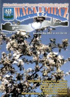 Waga i Miecz : miesięcznik Samorządu i Towarzystwa Miłośników Ziemi Strzyżowskiej. 2002, [R. 12], nr 4-5 (kwiecień-maj)