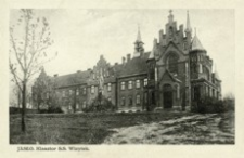 Jasło. Klasztor S.S. Wizytek [Widokówka czysta]