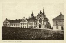 Jasło. Klasztor P.P. Wizytek [Grafika w formie pocztówki czysta]