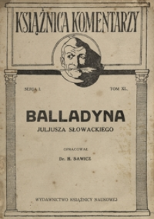 Balladyna Juljusza Słowackiego
