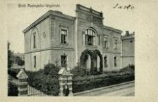 Jasło. Bank Austryacko-Węgierski [Widokówka czysta]