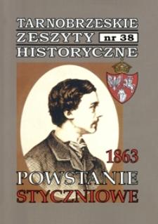 Tarnobrzeskie Zeszyty Historyczne. 2013, nr 38 (styczeń)
