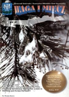 Waga i Miecz : miesięcznik Samorządu i Towarzystwa Miłośników Ziemi Strzyżowskiej. 2005, [R. 15], nr 12 (grudzień)