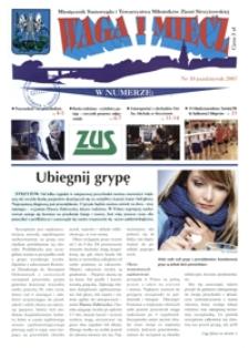 Waga i Miecz : miesięcznik Samorządu i Towarzystwa Miłośników Ziemi Strzyżowskiej. 2007, [R. 17], nr 10 (październik)