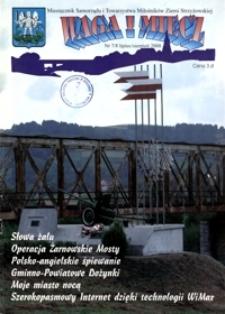 Waga i Miecz : miesięcznik Samorządu i Towarzystwa Miłośników Ziemi Strzyżowskiej. 2008, [R. 18], nr 7-8 (lipiec-sierpień)