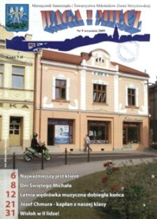 Waga i Miecz : miesięcznik Samorządu i Towarzystwa Miłośników Ziemi Strzyżowskiej. 2009, [R. 19], nr 9 (wrzesień)