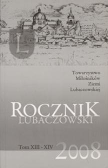Rocznik Lubaczowski. 2004-2006, T. 13-14