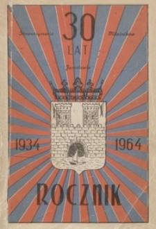 Rocznik Stowarzyszenia Miłośników Jarosławia. 1963-1964, [R. 4]
