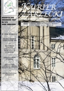 Kurier Zarzecki : pismo samorządowe gminy Zarzecze : Kisielów, Łapajówka, Maćkówka [...]. 2007, nr 1