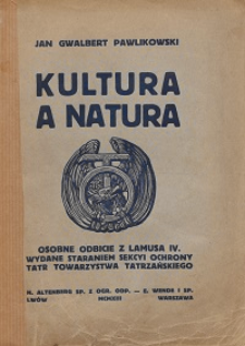 Kultura a natura