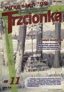 Trzcionka : kwartalnik społeczno-kulturalny Towarzystwa Przyjaciół Trzciany. 1999, nr 11