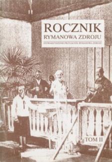 Rocznik Rymanowa Zdroju. 1997, T. 2
