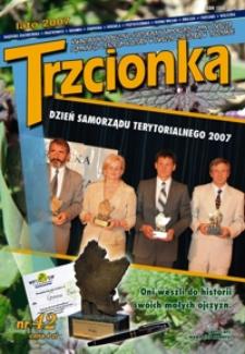 Trzcionka : kwartalnik społeczno-kulturalny Samorządu Gminy Świlcza i Gminnego Centrum Kultury w Świlczy z siedzibą w Trzcianie. 2007, nr 42