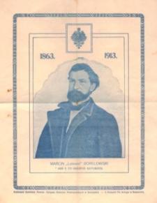 """Marcin """"Lelewel"""" Borelowski : 1863-1913"""