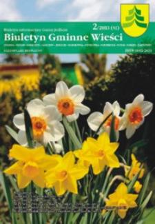 Biuletyn Gminne Wieści : biuletyn informacyjny Gminy Jedlicze. 2013, nr 2