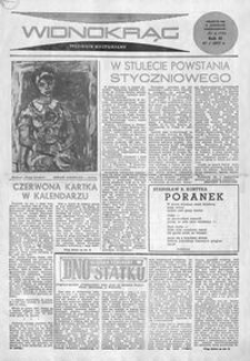 Widnokrąg : tygodnik kulturalny. 1963, nr 4 (27 stycznia)