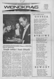 Widnokrąg : tygodnik kulturalny. 1963, nr 22 (2 czerwca)