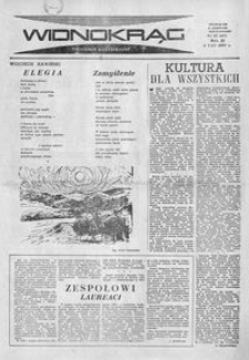 Widnokrąg : tygodnik kulturalny. 1963, nr 31 (4 sierpnia)