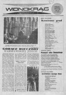 Widnokrąg : tygodnik kulturalny. 1963, nr 40 (6 października)