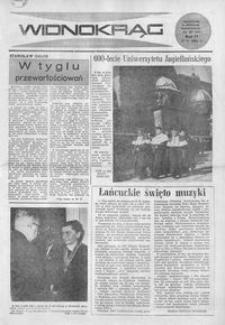 Widnokrąg : tygodnik kulturalny. 1964, nr 20 (17 maja)
