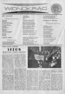 Widnokrąg : tygodnik kulturalny. 1964, nr 43 (25 października)
