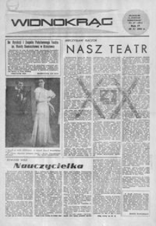 Widnokrąg : tygodnik kulturalny. 1964, nr 47 (22 listopada)