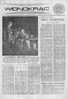 Widnokrąg : tygodnik kulturalny. 1964, nr 51 (20 grudnia)