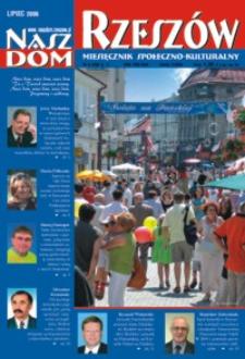 Nasz Dom Rzeszów : miesięcznik społeczno-kulturalny. 2006, R. 2, nr 7 (lipiec)