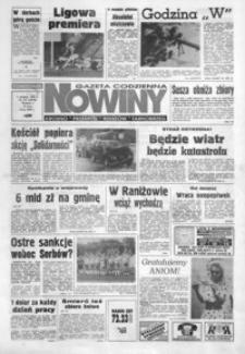 Nowiny : gazeta codzienna. 1994, nr 147-168 (sierpień)