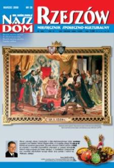 Nasz Dom Rzeszów : miesięcznik społeczno-kulturalny. 2008, R. 4, nr 3 (marzec)