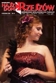 Nasz Dom Rzeszów : miesięcznik społeczno-kulturalny. 2009, R. 5, nr 10 (październik)