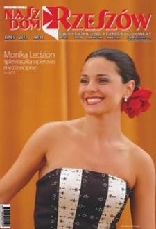 Nasz Dom Rzeszów : miesięcznik społeczno-kulturalny. 2012, R. 8, nr 7 (lipiec)