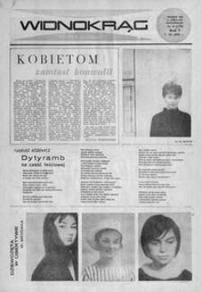 Widnokrąg : tygodnik kulturalny. 1965, nr 9 (7 marca)