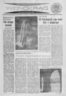 Widnokrąg : tygodnik kulturalny. 1965, nr 12 (28 marca)