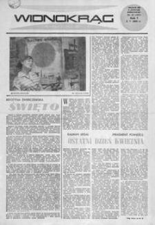 Widnokrąg : tygodnik kulturalny. 1965, nr 17 (2 maja)