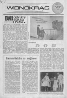 Widnokrąg : tygodnik kulturalny. 1965, nr 18 (9 maja)