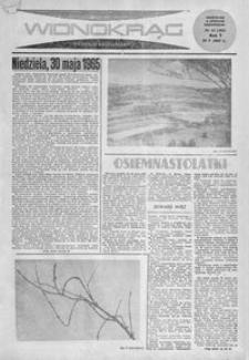 Widnokrąg : tygodnik kulturalny. 1965, nr 21 (30 maja)