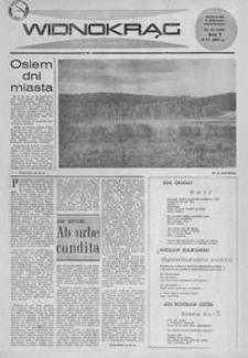 Widnokrąg : tygodnik kulturalny. 1965, nr 22 (6 czerwca)